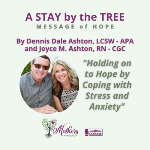 Holding on to Hope by Coping with Stress and Anxiety