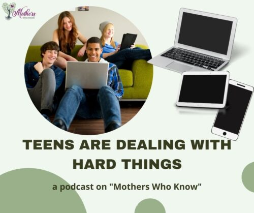 Teens are dealing with hard things