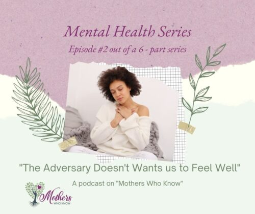 """""""The Adversary Doesn't Want us to Feel Well."""""""