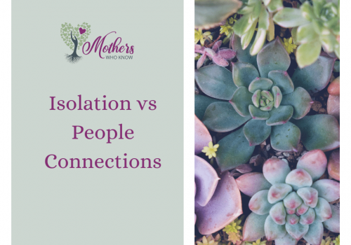 Isolation v People Connections